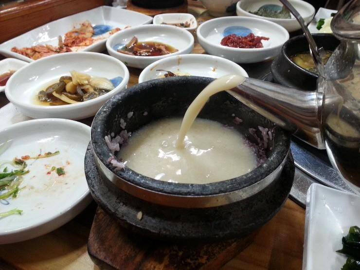경주봉황대 쌈밥정식 3 마시조은집 korean set menu