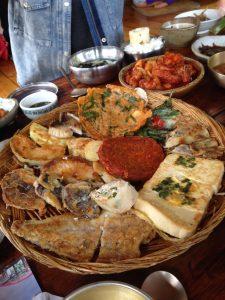 도솔마을 한정식 대릉원 황리단 5 korean set menu