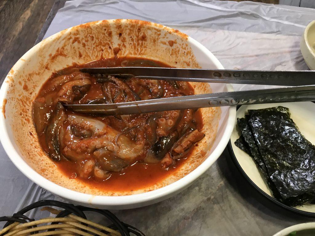 경주쭈꾸미  Webfoot octopus/경주한옥 신달하우스 추천맛집 33