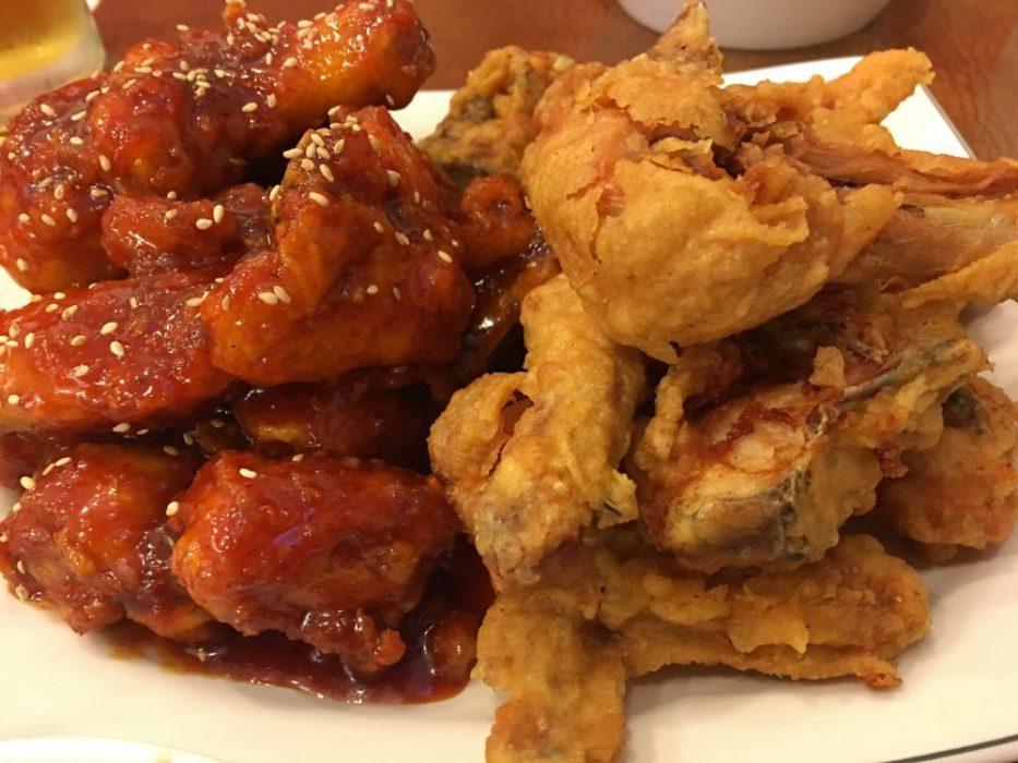 추억의 멕시칸치킨 경주역 2 fried chicken