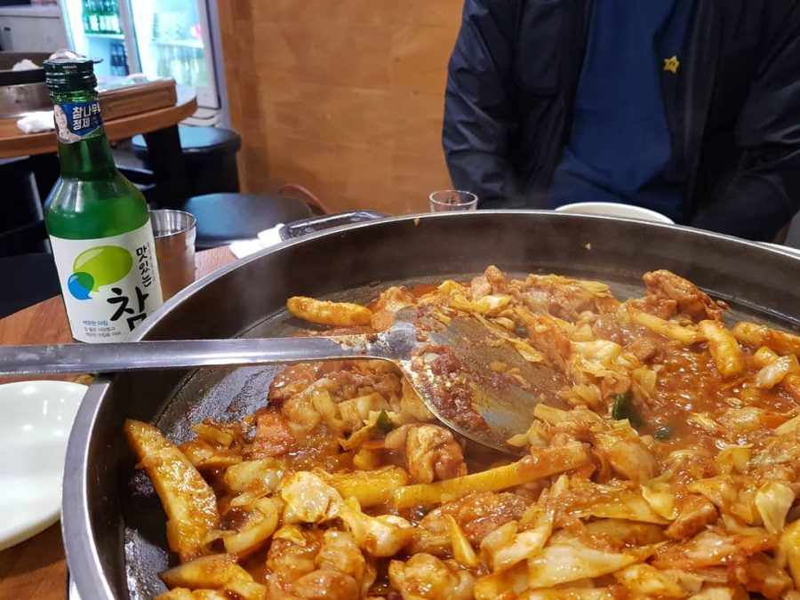 운수대통닭갈비 vs 산갈래닭갈비 경주맛집 4 fried source Chicken