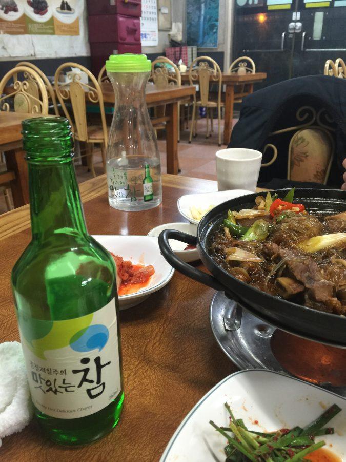 일품곰탕 대릉원황리단 맛집 5 / Beef soup, beef bone with source